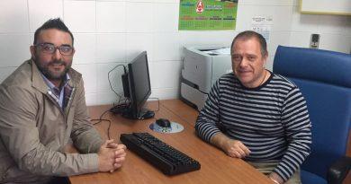 Leandro Martín y Jesús Huertas, anuncian la ampliación del servicio de pediatría