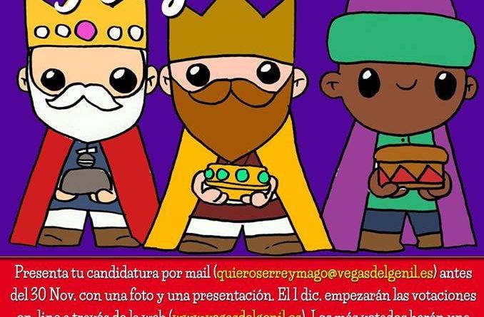 Cartel concurso Reyes Magos