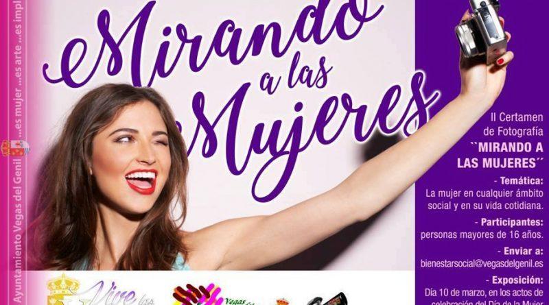 """Vegas del Genil organiza su II Certamen de Fotografía """"Mirando a las mujeres"""""""