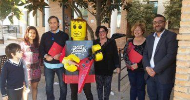 25 construcciones realizadas con Lego compiten en un concurso en Vegas del Genil
