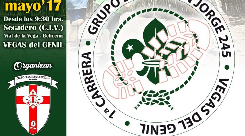 Vegas del Genil acoge mañana la I Carrera para scouts organizada por Grupo scout San Jorge