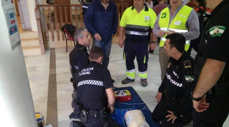 La Policía Local de Vegas del Genil contará con un desfibrilador portátil para emergencias