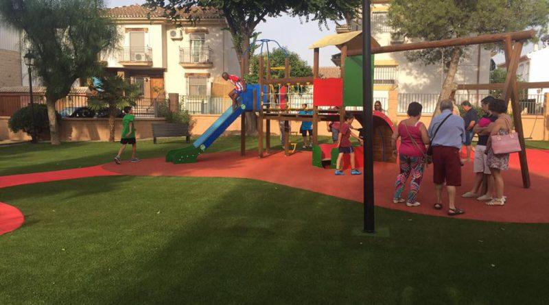 Vegas del Genil remodela el Parque Huerta del Pilar, el más antiguo y grande del municipio