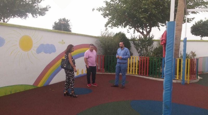 Vegas del Genil pone a punto sus centros educativos de cara al inicio del nuevo curso escolar