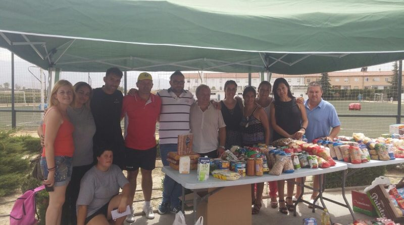 Vegas del Genil recauda más de 800 kilos de alimentos con un torneo solidario de fútbol