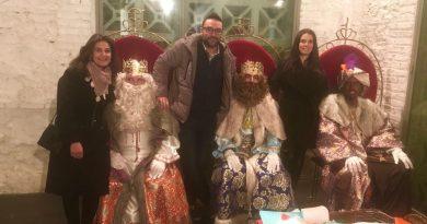 Un servicio de Reyes Magos a domicilio llevará los regalos en Vegas del Genil