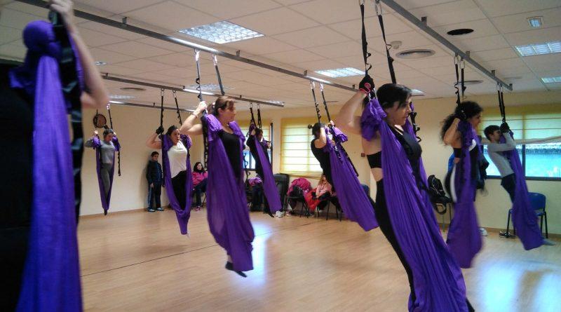 Vegas del Genil, primer municipio de Granada que organiza clases de aeropilates