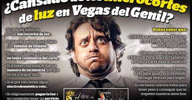 Vegas del Genil inicia una campaña para conocer cuántos de sus vecinos sufren microcortes de luz