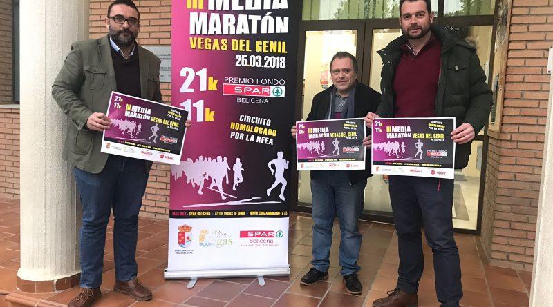 Abierto el plazo para participar en la III Media Maratón de Vegas del Genil, una de las más rápidas de toda España