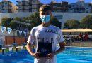 El nadador de Vegas del Genil Alex Nurminen logra tres nuevas medallas en el Campeonato de Andalucía Infantil
